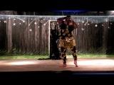 Восточный танец в мужском исполнении
